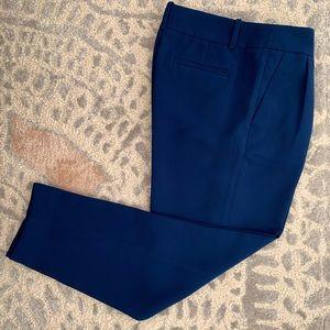 Royal blue J. Crew slacks size 0